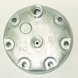 Compressor Cylinder Head: Horizontal O'ring cylinder head