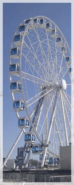 Kalori Kanada II Modification Mounting For Ferris Wheels